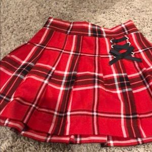 Justice Girls skirt with built in shorts